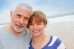 Senior couple vacation Royalty Free Stock Images