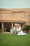 Senior couple on vacation Royalty Free Stock Photos