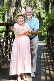 Senior Couple Vacationing Stock Photography