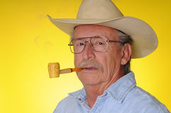 Senior Cowboy Stock Photography