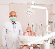 Senior dentist Royalty Free Stock Photos