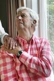 Senior depression Royalty Free Stock Images