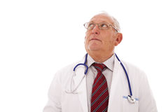Senior doctor Stock Image