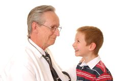 Senior Doctor 14 Royalty Free Stock Photos