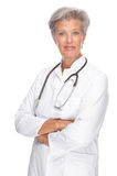 Senior doctor Stock Photo