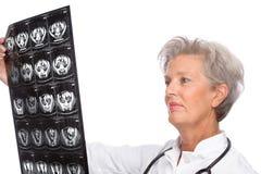 Senior doctor Stock Photo