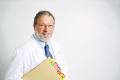 Senior doctor Royalty Free Stock Photography