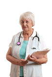 Senior doctor Stock Photography