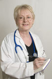 Senior Doctor Royalty Free Stock Images
