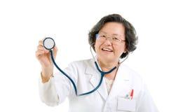 Senior doctor Royalty Free Stock Image