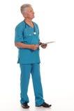Senior doctor photo Royalty Free Stock Image