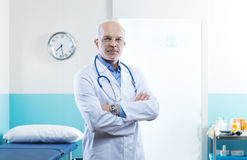 Senior doctor portrait Stock Photo