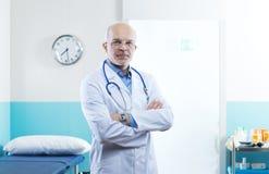 Senior doctor portrait Stock Photo