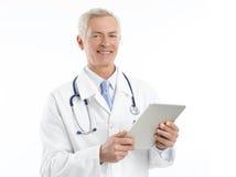 Senior doctor portrait Stock Photos