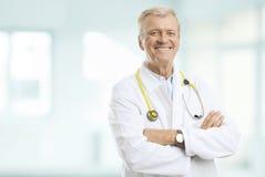 Senior Doctor Stock Image