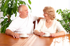 Senior elderly couple Royalty Free Stock Image