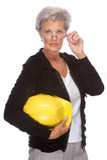 Senior engineer Royalty Free Stock Image