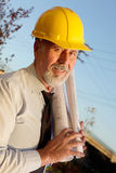 Senior engineer Stock Photo