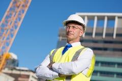 Senior engineer Royalty Free Stock Photography