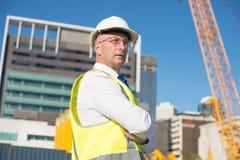 Senior engineer Royalty Free Stock Photo