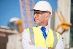 Senior engineer Royalty Free Stock Photos