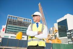 Senior engineer Royalty Free Stock Images