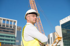 Senior engineer Stock Photography