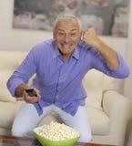Senior entertainment Royalty Free Stock Image