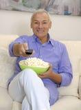 Senior entertainment Stock Image