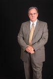 Senior executive in a business suit stock image