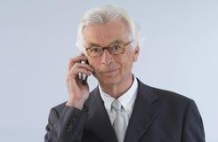 Senior  executive man Royalty Free Stock Photography