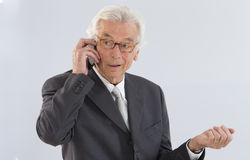 Senior  executive man Royalty Free Stock Image