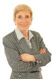 Senior executive woman royalty free stock photography