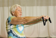 Senior Exercise Royalty Free Stock Images