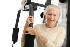 Senior exercise Royalty Free Stock Photography