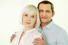 Senior family Stock Image