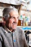 Senior farmer indoor Royalty Free Stock Photos