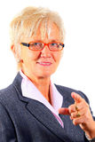 Senior Female Boss Royalty Free Stock Photo