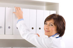 senior Female doctor  Stock Images