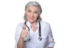 Senior female doctor Royalty Free Stock Photo