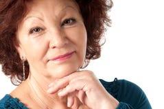 Senior female portrait Royalty Free Stock Images
