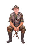 Senior fisherman Royalty Free Stock Images