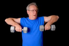 Senior Fitness Stock Image