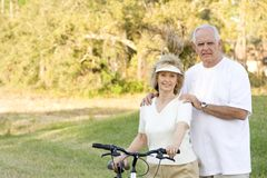 Senior Fitness Royalty Free Stock Image