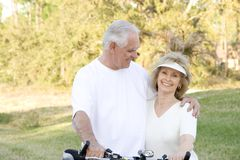 Senior Fitness Royalty Free Stock Photography