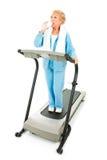 Senior Fitness - Hydration Royalty Free Stock Photo