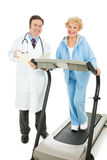 Senior Fitness - Medically Supervised Royalty Free Stock Image