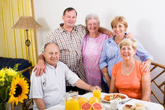 Senior friends Royalty Free Stock Photos