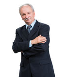 Senior full length businessman Stock Image