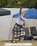 Senior Fun. Event:  34th Annual Hawaiian Scottish Festival & Highland Games 11.IV.15 Stock Image